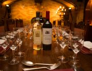 Twickenham Cellar Private Dining Image With Wine Bottles On Table
