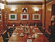 The Walbrook Club Private Dining Image The Oak Room