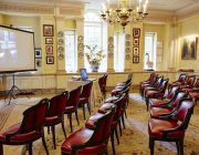 The Walbrook Club Private Dining Room Image Theatre Style With Screen
