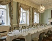 Dartmouth House Private Dining Room Image Small Drawing Room With Table Set For Lunch