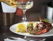 McQueen Shoreditch Grill Food Image Steak Lobster