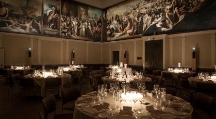 Interior shot of Luxury Private Dining Rooms at RSA House - Covent Garden, London WC2N