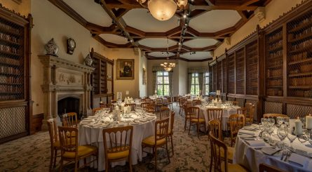 The Elvetham Private Dining Image The Library 1
