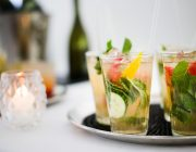 Ognisko Restaurant Food Image Drinks Image Wedding Cocktails