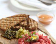Ognisko Restaurant Food Image Steak Tartare