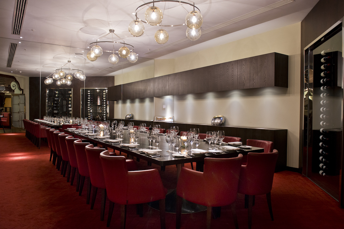 Private dining room london