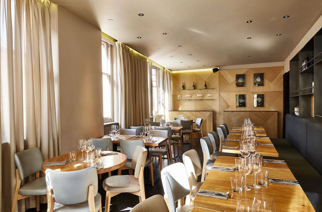 Luxury private dining rooms at obicà south kensington