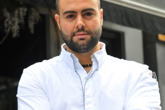 Pied a Terre Chef Asimakis Chanoitis