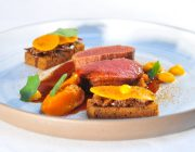 Pied a Terre Food Image Beef Medallions