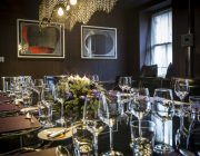 Pied a Terre New Private Dining Room Image Set Table