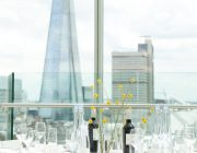 Blue Fin Venue Private Dining Room Image Shard In Background