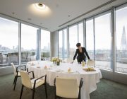 Blue Fin Venue Private Dining Room Image With The Shard In Background