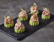 Bush House Food Image Smoked Salmon Cucumber Canapes copy