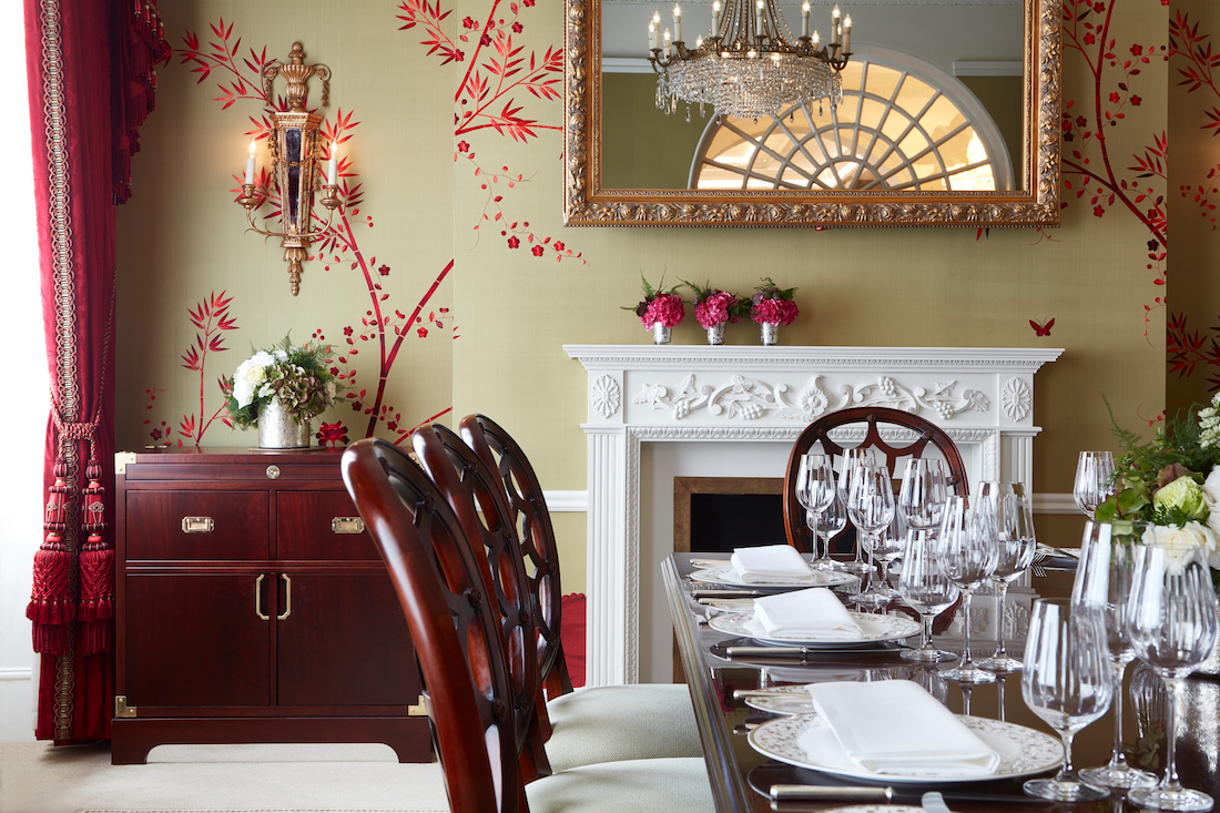 private dining rooms | Luxury Private Dining Rooms at The Goring, Belgravia ...
