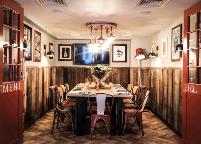 Private dining room at the hydrant the city london ec3r for Best private dining rooms city of london