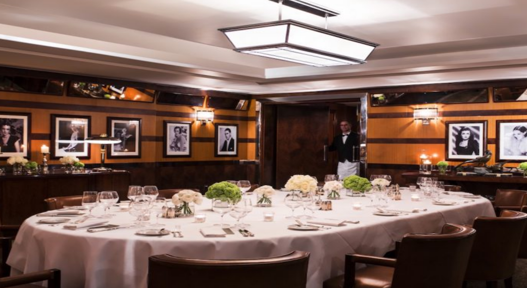 The Lotos Room at The Beaumont Private Dining Room Image Homepage