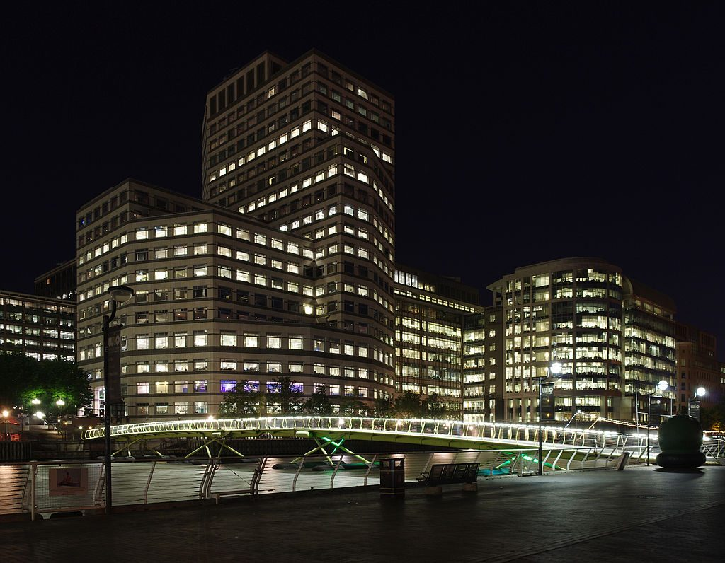 London MMB «B5 West India Quay And 1 Cabot Square 1024x796