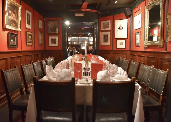 Luxury Private Dining Rooms At Boisdale Of Belgravia