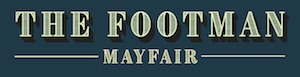 The Footman Mayfair logo