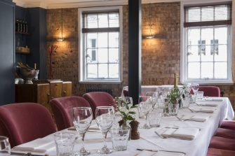 The Footman Mayfair Private Dining Room Image 1 335x223
