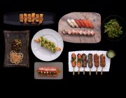 Seafood private dining at Sticks 'n' Sushi Chelsea