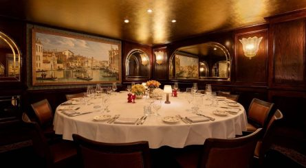 The Canaletto Room At Harrys Dolce Vita Set Table Image 445x245