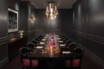The London EDITION Berners Tavern Private Dining Room Image 335x223