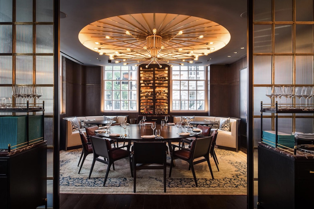 private dining rooms | Luxury Private Dining Room at Rüya Mayfair - 30 Grosvenor ...