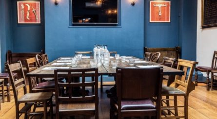 Fox Anchor Private Dining Room Image 445x245