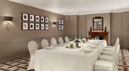 Hyatt Regency Birmingham Private Dining Room Image The Drawing Room Private Dinner 1 445x245