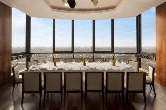 Galvin At Windows Private Dining Room Image Balcony With London Skyscape View 1 335x223