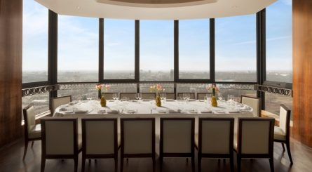 Galvin At Windows Private Dining Room Image Balcony With London Skyscape View 1 445x245
