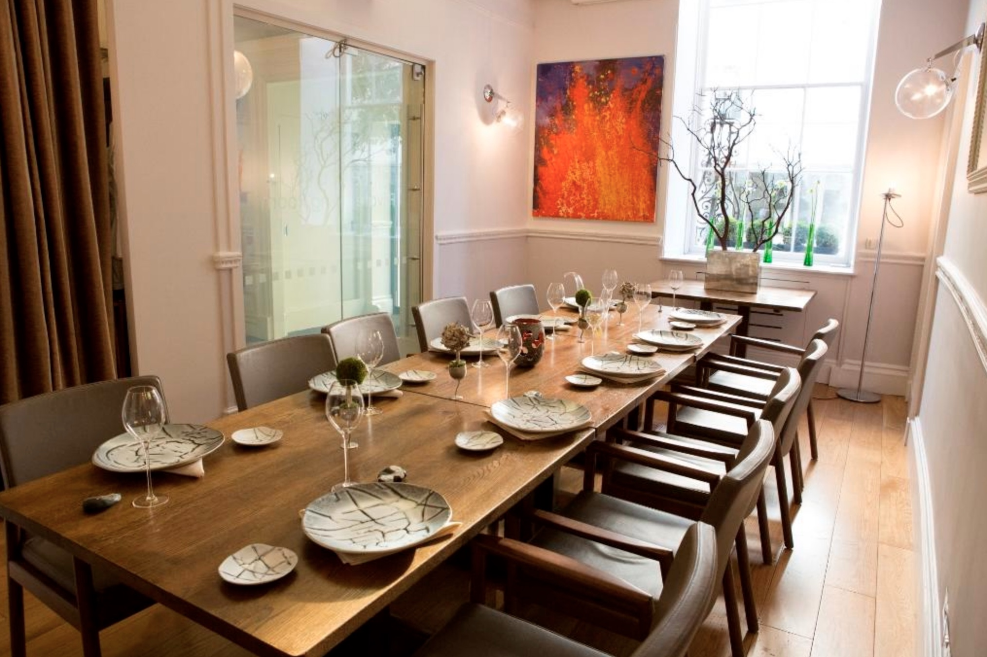 Luxury Private Dining Room at Texture - 34 Portman Street ...