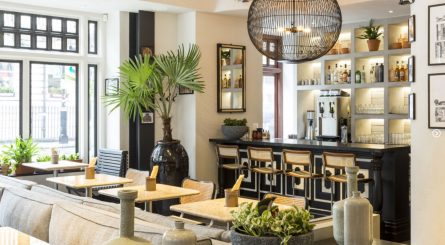 Hoppers St. Christophers Place Private Dining Room Image 445x245