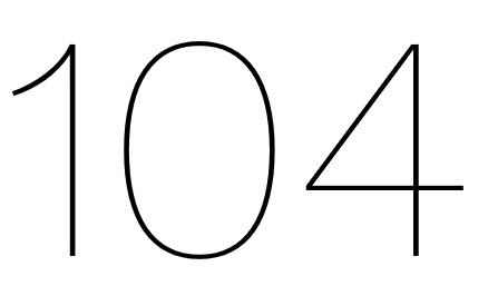 104 Restaurant logo