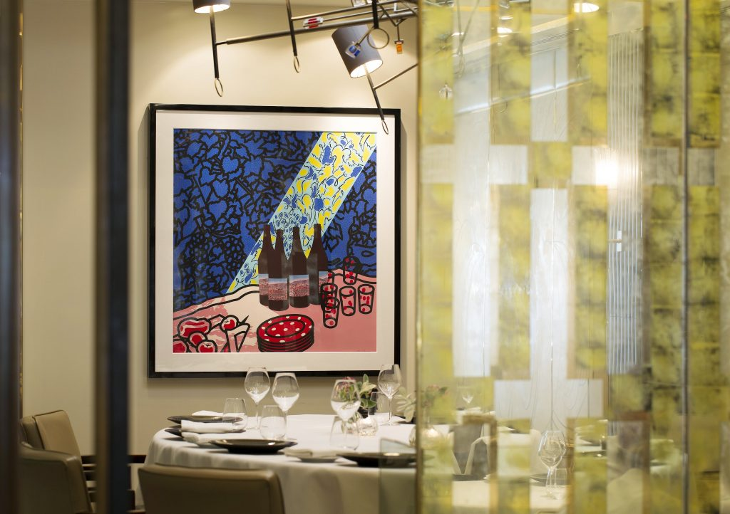 Murano By Angela Hartnett Private Dining Room Image Artwork On Wall 1024x722