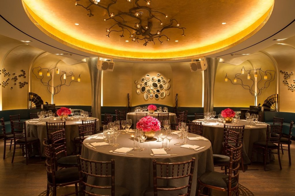 Nobu Berkeley ST Private Dining Image 6 Chair Round Tables 1 1024x683