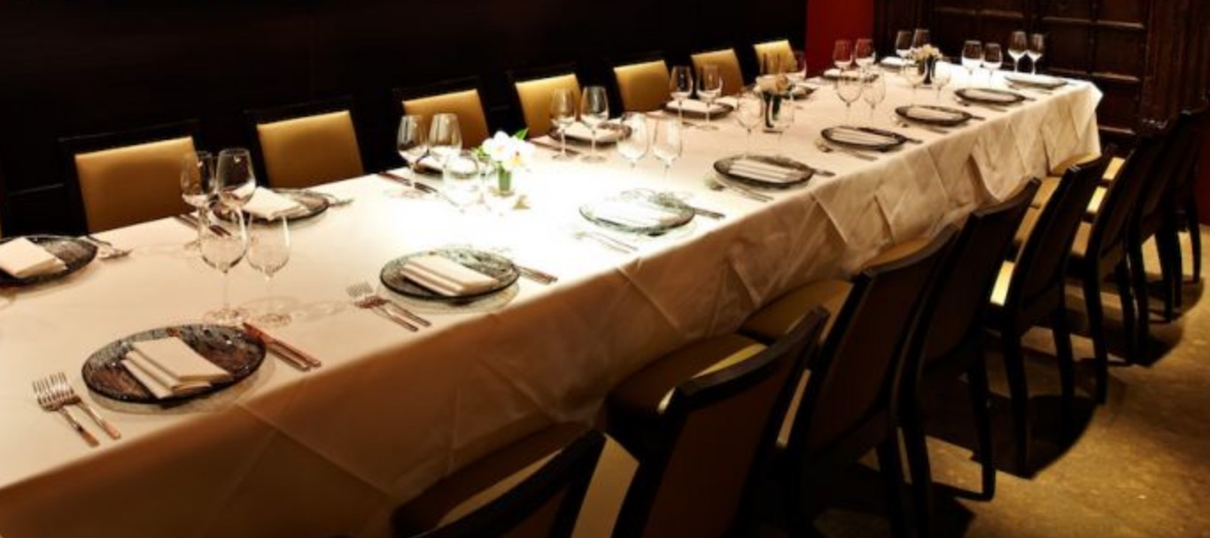 Private Dining Room At Benares Indian Restaurant In London