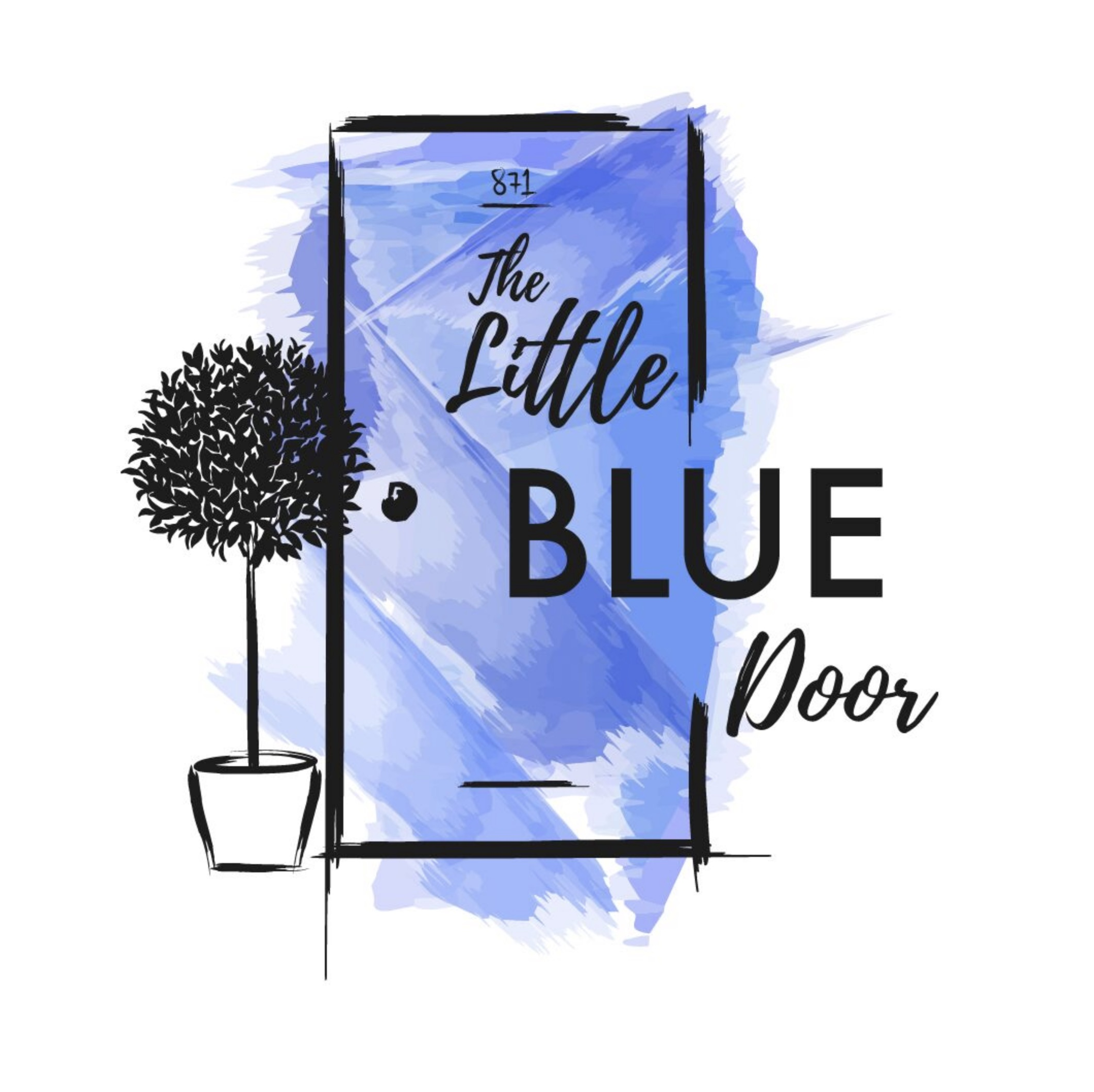 The Little Blue Door logo