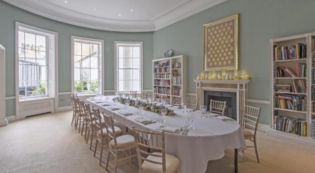Asia House Private Dining Room Image Library Table Set For Dinner 1 445x245