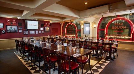 Café Rouge Hays Galleria Private Dining Room Image 1 445x245