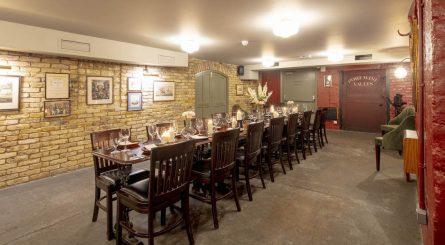 Davys Wine Vault Private Dining Room Image Victoria Room 1 445x245
