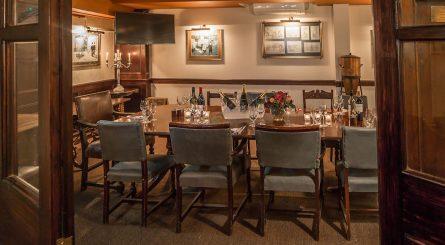 El Vino Fleet Street Private Dining Room Image 445x245