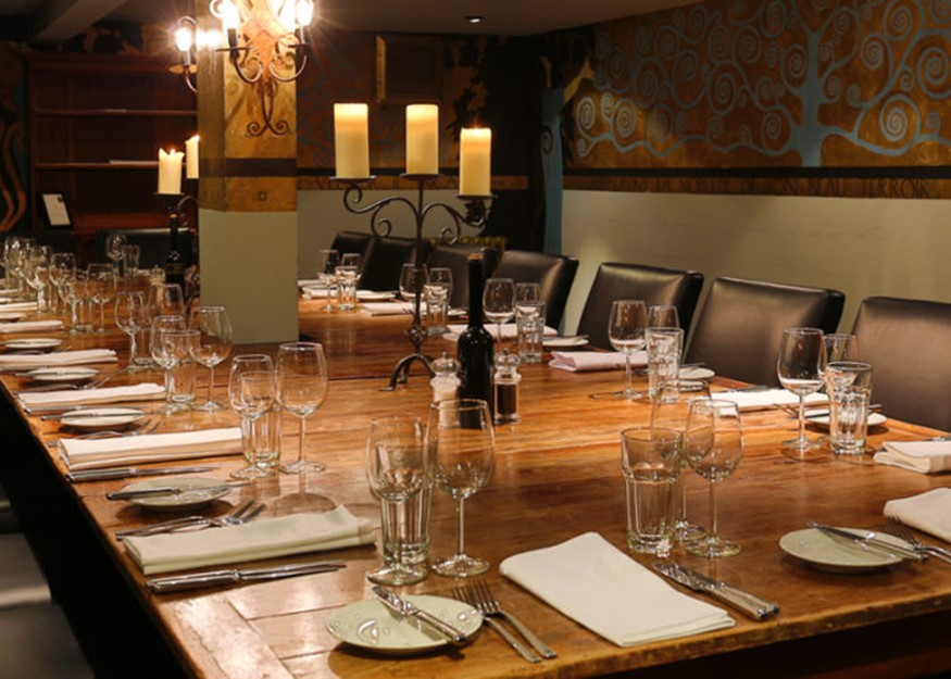 Hotel du Vin Private Dining in Bristol