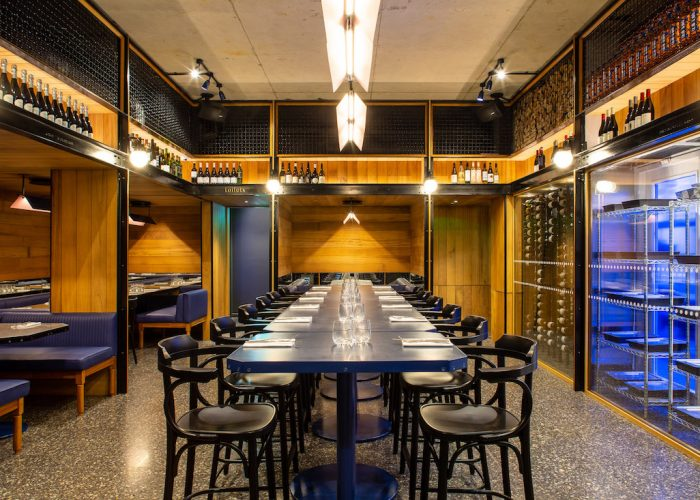 Garden Walk Dining: Private Dining Room At The Den @ Temper Covent Garden