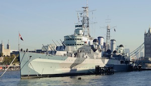 HMS Belfast, Tower Bridge logo