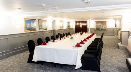HMS Belfast Private Dining Room Image Morgan Giles Room 445x245