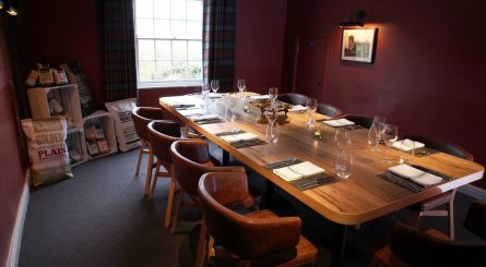 Galvin Green Man Chelmsford Private Dining Room Image Table Set For 10 Guests 445x245