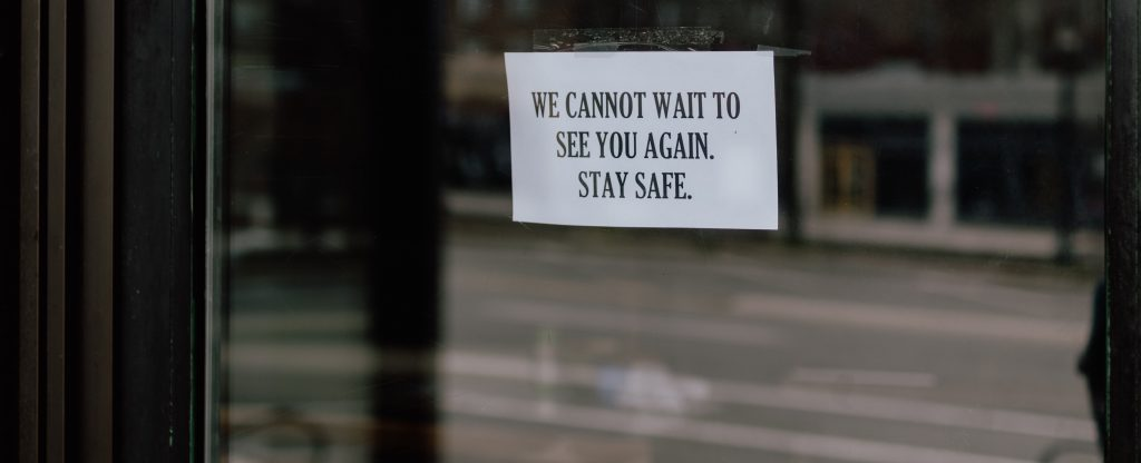 Restaurants Coronavirus Closed Stay Safe 1 1024x416