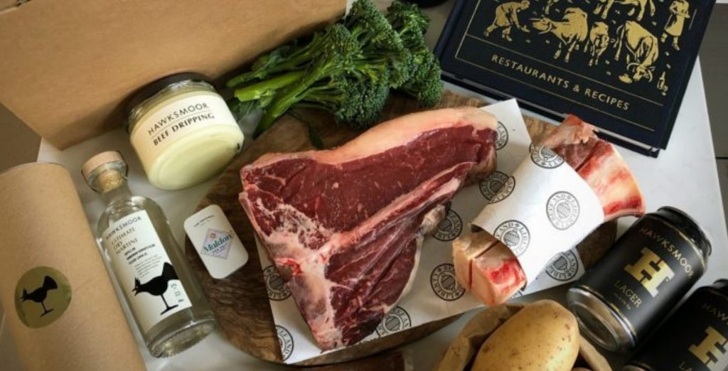 Hawksmoor At Home Home Assembly Food Delivery Kit Including Dry Aged Steak 1024x522
